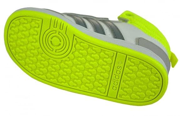 Adidas Hoops CMF MID INF Bébé sneaker enfants chaussures Blanc A6cwJOSyZY