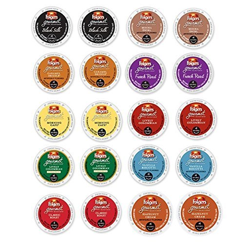 20 Count Folgers Variety Brewers