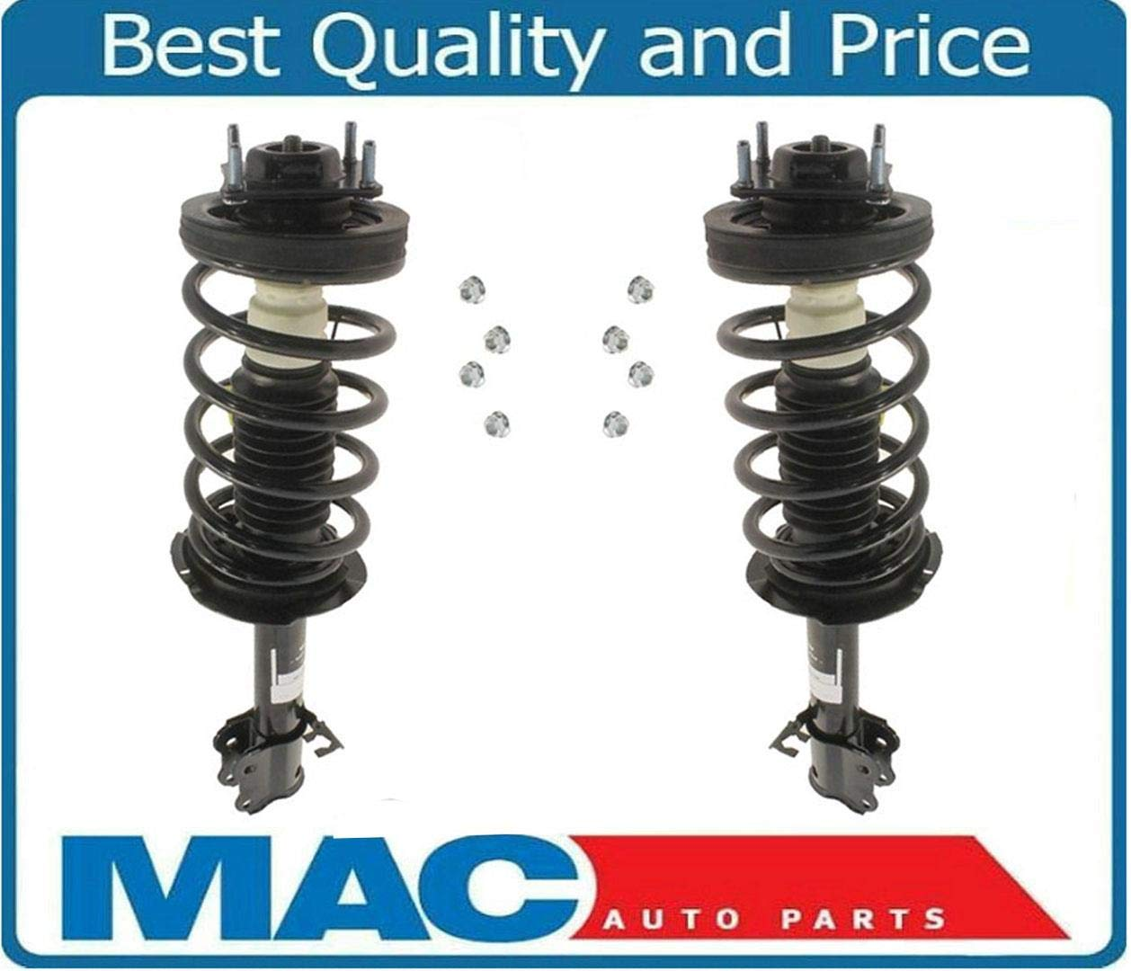 Fits 2001-2011 Ford Escape Mazda Tribute /& 05-11 Mercury Mariner 2 Front Quick Spring Strut and Mount