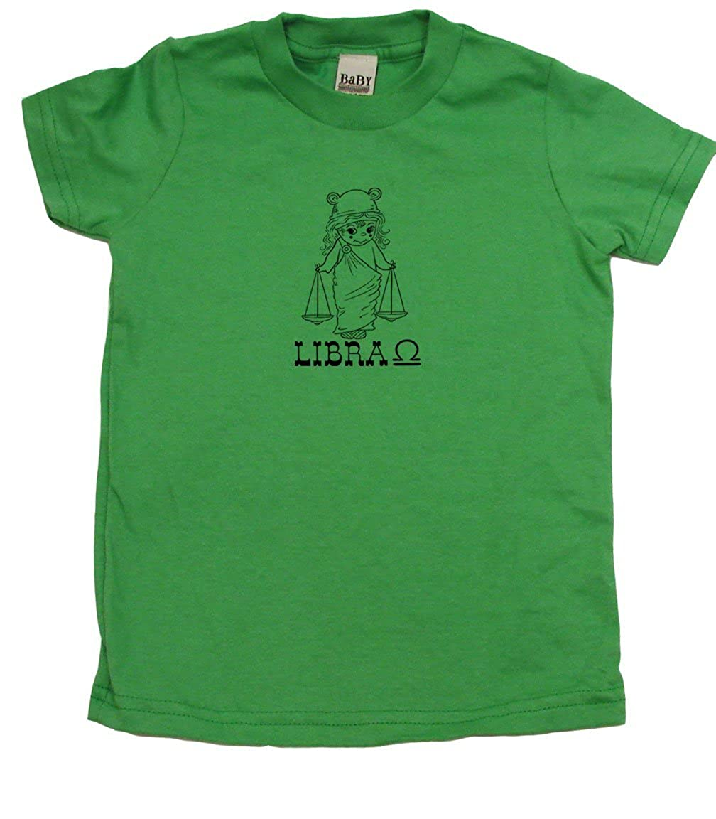 Libra Scales Cute Toddler Clothes Boy /& Girl Toddler T-Shirt Kids Birthday Gift