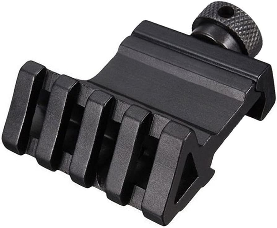 IG/_ Tactical 45 Degree Offset Angle 20mm Side Rail Scope Mount for Picatinny RTS