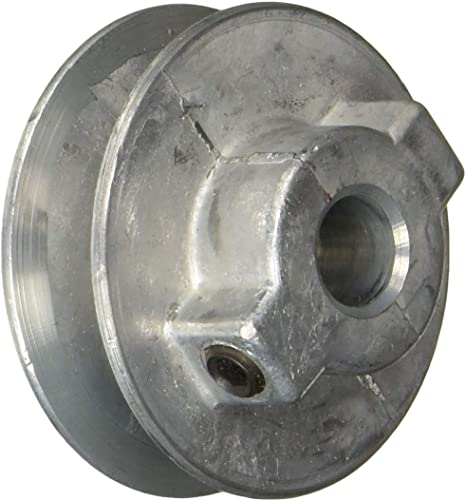 "2/"" V Belt Pulley NEW 200-A Chicago Zinc Die Cast Bore 3//8/"" 3//4/"" bores"