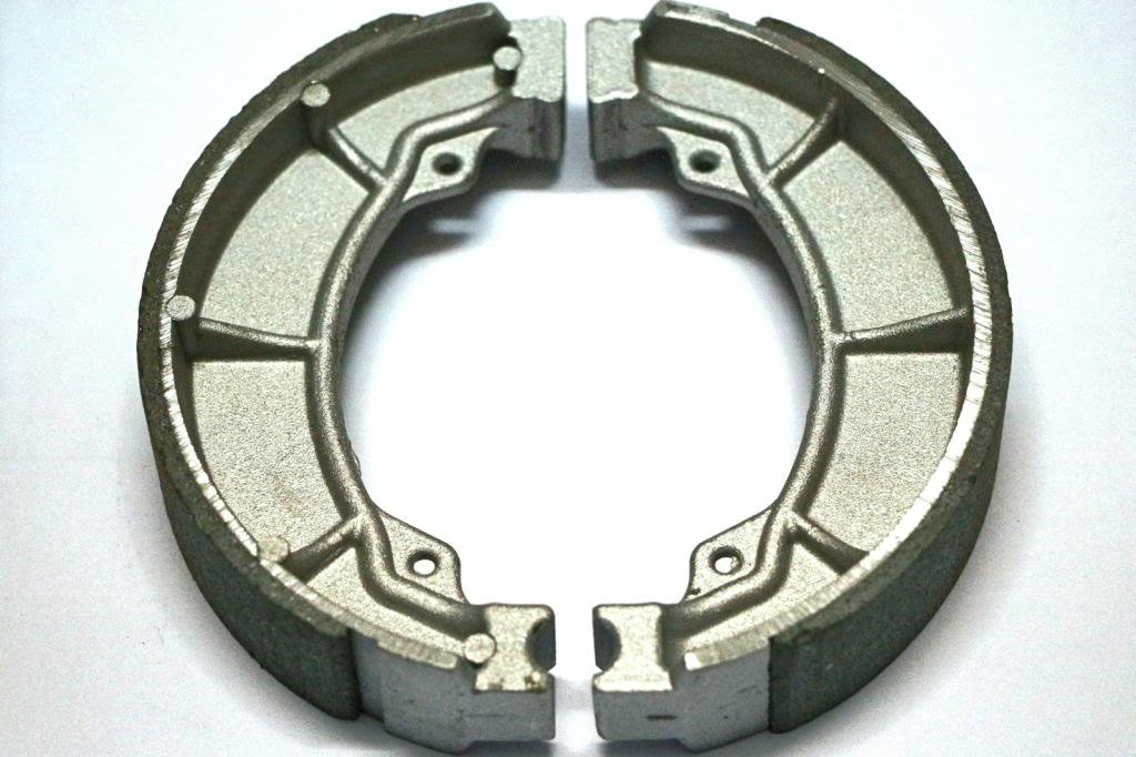 Master Chen Rear Brake Shoes Pads for Honda Fourtrax TRX 200 TRX200 Fourtrax TRX 90 TRX90 MC0375-PAD