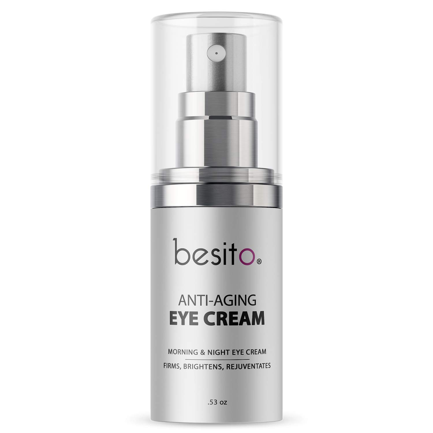 Anti Aging Eye Cream for Dark Circles and Puffiness, Eye Bags, Crow's Feet, Fine Lines, and Sagginess by BESITO