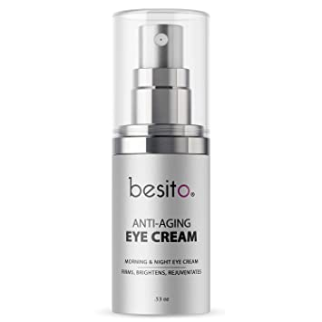 Anti Aging Eye Cream for Dark Circles and Puffiness, Eye Bags, Crows Feet, Fine Lines, and Sagginess