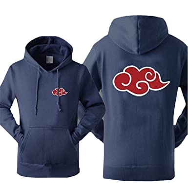 Amazon.com: WEEKEND SHOP Hoodie Anime Naruto Akatsuki Hoodie for Men Sweatshirt Tracksuits Hoodies: Clothing