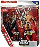 NATION OF DOMINATION (THE ROCK & FAAROOQ) - WWE ELITE FLASHBACK EXCLUSIVE 2-PACK MATTEL TOY WRESTLING ACTION FIGURES