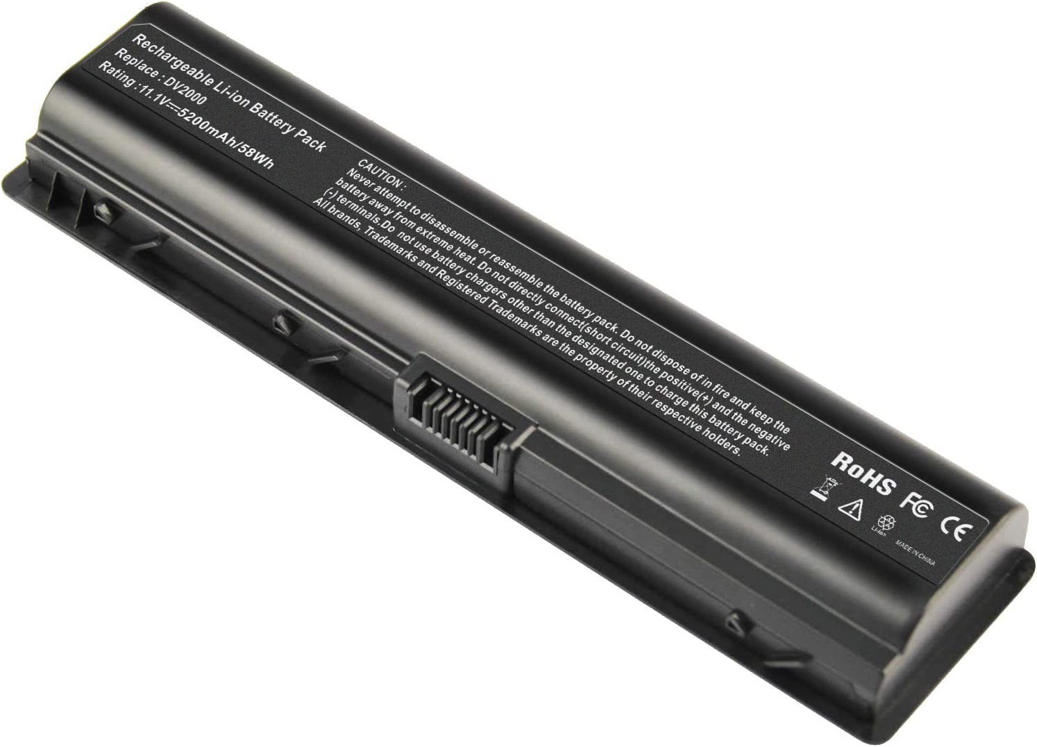 ARyee Laptop Battery Compatible with HP Pavilion DV6700 DV6500 DV6300 DV6100 DV6000 DV2700 DV2500 DV2100 DV2000, fit 446506-001 441243-001 441611-001 446507-001 452057-001 462853-001 HSTNN-IB31 W20C