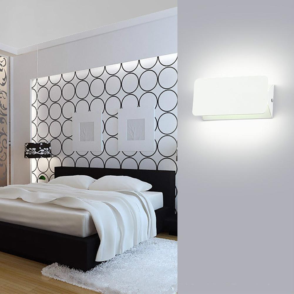 Schlafzimmer Nachttisch LED Wandleuchte Gang Korridor Treppe Treppe Treppe LED Wandleuchte Moderne minimalistische Innenwandlampe 30bc47