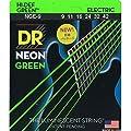 DR Strings NGE-9 Coated Nickel Electric Guitar Strings, Light