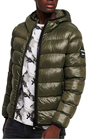 8bb31d3dbab788 Superdry Men's Crater Padded Jacket Sports: Amazon.co.uk: Clothing