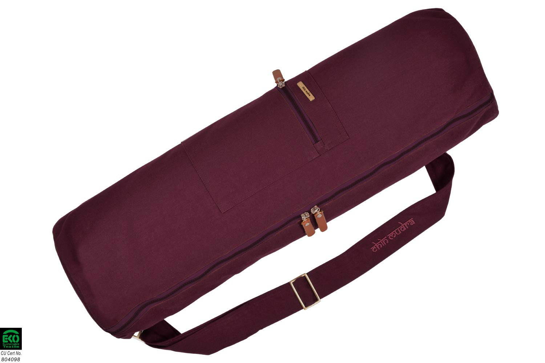 Fabelab Sporttasche Reisetasche Ocker aus 100/% Bio-Baumwolle