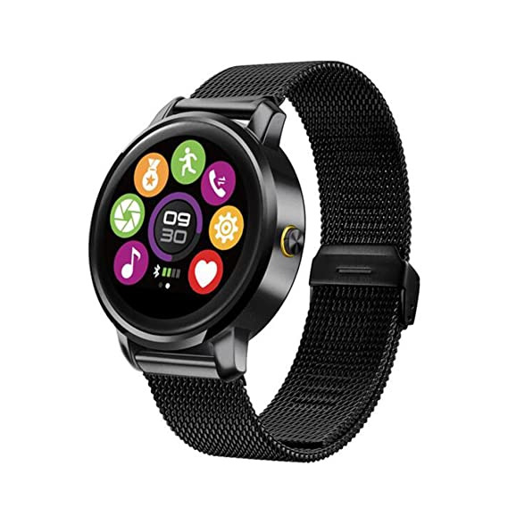 SZDLDT New arrival Smart Watch Fitness Round Heart Rate monitor Bluetooth smartwatch reloj inteligente electronic wrist