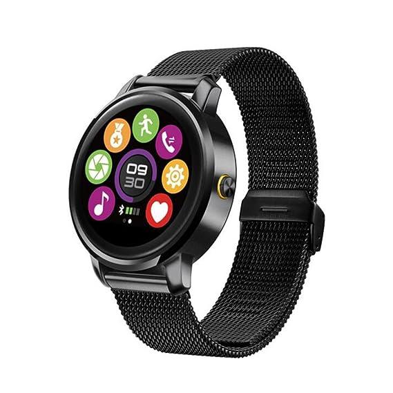 SZDLDT New arrival Smart Watch Fitness Round Heart Rate monitor Bluetooth smartwatch reloj inteligente electronic wrist