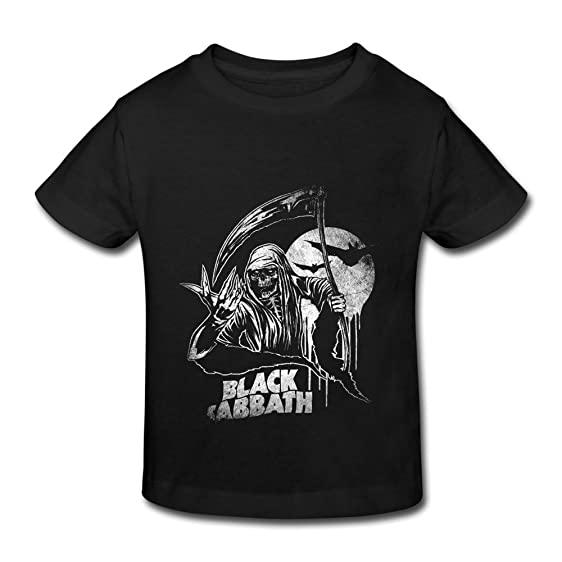 Amazon.com: Black Sabbath Ozzy Osbourne Kid's T Shirt Printing ...