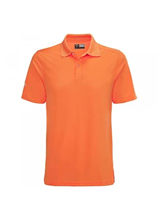 cb526a4e1c1f Callaway Golf Opti-Dri Polo Shirt Paradise Orange Extra Small ...