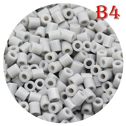 H/&W 5mm Fuse Bead Refill Bag B5 Dark Gray 1500 Count