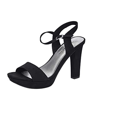 quality design 71317 6284f Tamaris Da.-Sandalette Größe 35 Schwarz (BLACK): Amazon.de ...