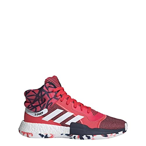 71cc366c073c Adidas Marquee Boost Shoe Men s Basketball 18 Shock Red-White-Collegiate  Navy