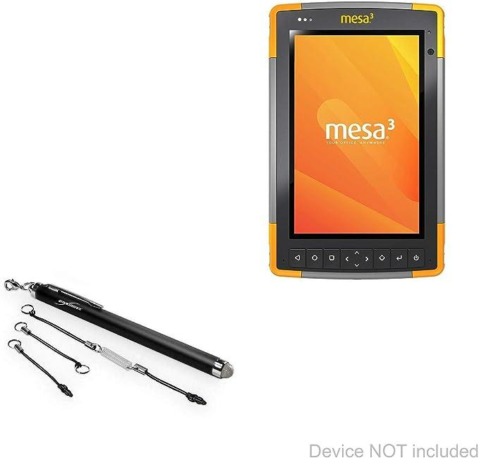 Nubia N3 Stylus Pen EverTouch Capacitive Stylus BoxWave Jet Black Fiber Tip Capacitive Stylus Pen for Nubia N3