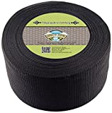 Country Brook Design 4 inch Heavy Black Polypropylene (Polypro) Webbing