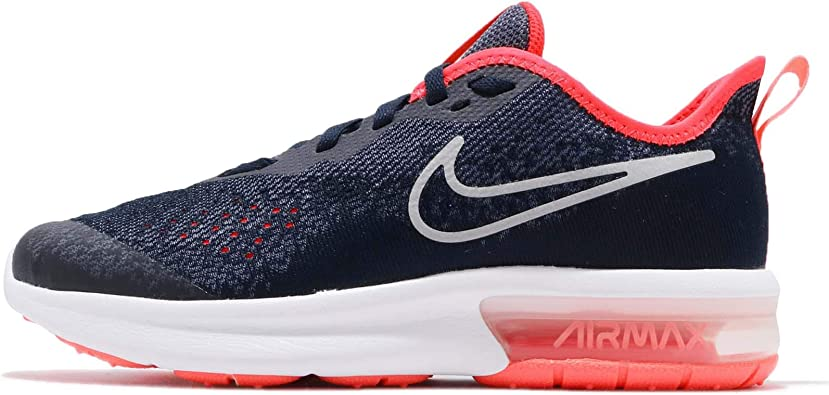 Florecer cocinero picar  Amazon.com | Nike Air Max Sequent 4 GS Running Trainers Aq2245 Sneakers  Shoes | Fashion Sneakers