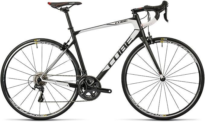 Bicicleta de carretera CUBE Attain GTC Race 2016-58 cm: Amazon.es ...