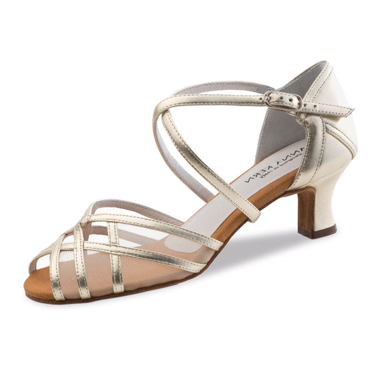 Anna Kern Mujeres Zapatos de Baile 580-50 - Cuero Cuero Cuero Oro - 5 cm 4de0de