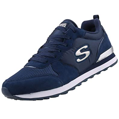 pretty nice 38b96 398f5 Skechers Damen Sneakers OG 85 Goldn Gurl Blau: Amazon.de ...