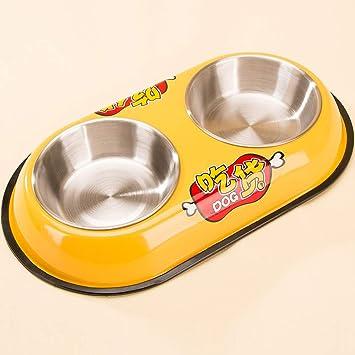 MXD Suministros para Mascotas Cartoon Dog Bowl Cat Bowl ...