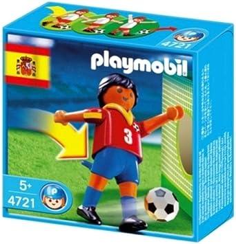 PLAYMOBIL 626688 - Fútbol - Futbolista España: Amazon.es: Juguetes ...