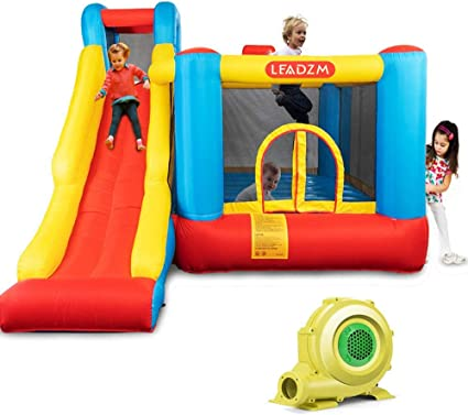 Amazon.com: JOYMOR Bounce House - Centro de juegos hinchable ...