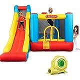 Amazon.com: WELLFUNTIME - Castillo hinchable para saltar con ...