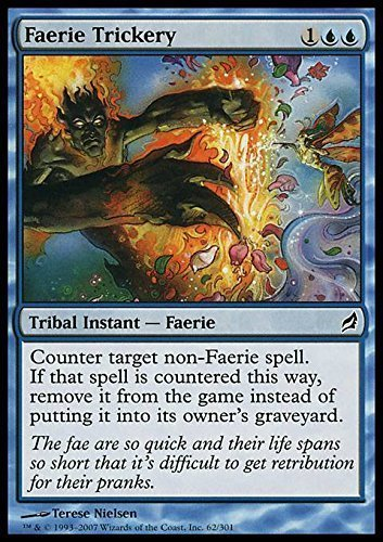 Amazon.com: Magic: the Gathering - Faerie Trickery - Lorwyn ...