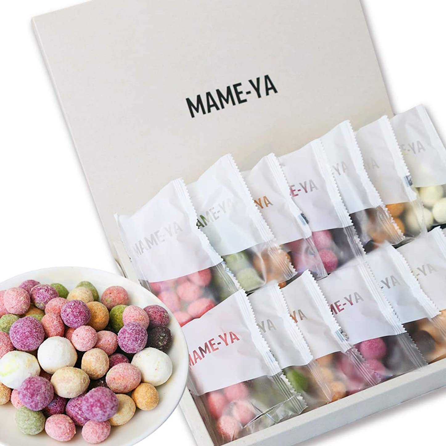 誘発するエクステント縞模様の父の日 おつまみ UMIMAME(ウミマメ) 海鮮おつまみセット メッセージカード 豆7種×2の14個セット