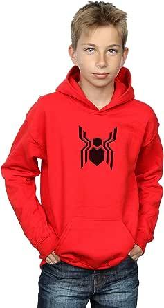 Marvel Niños Spider-Man Far from Home Emblem Capucha