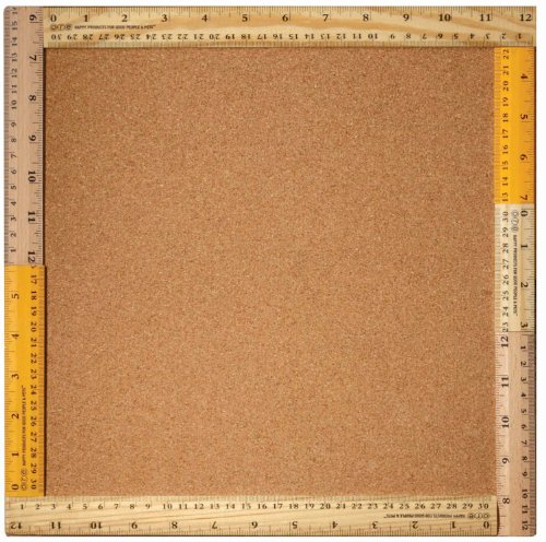 Sugarbooger Ruler Frame Cork Bulletin Board