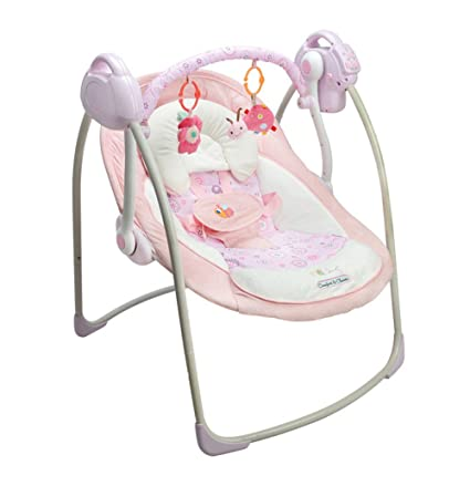 Genial JXWANG Baby Swing Chair And Portable Electric Bouncer With Songs And Sounds  Suitable From 0