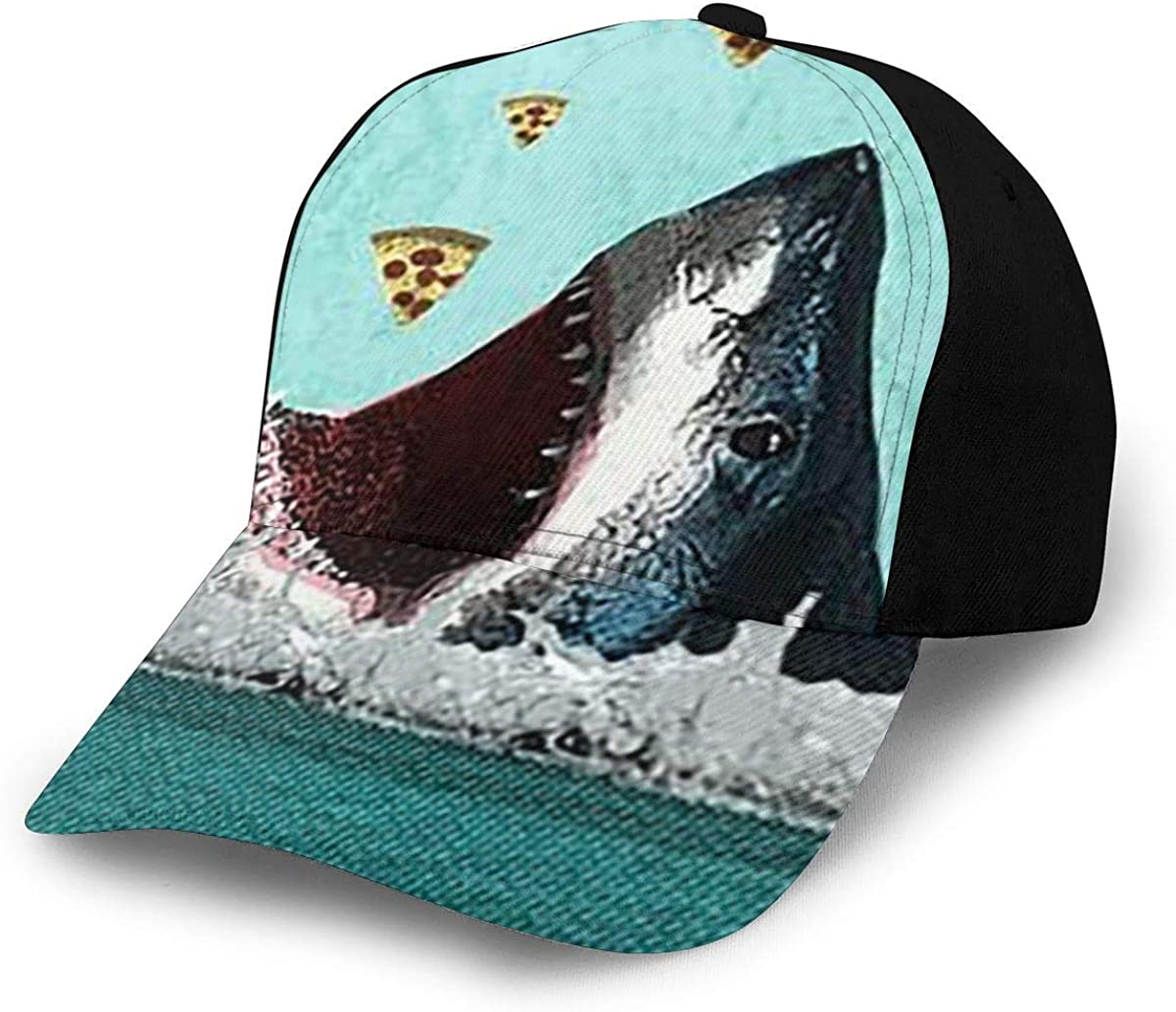 Baseball Caps Cartoon Shark Receive Baseball Caps Snapback Dad Fishing Cap Hat Adjustable
