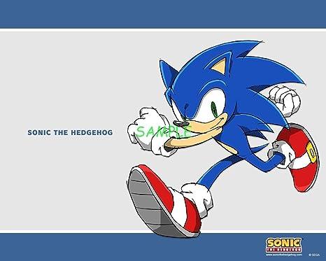 Amazon.com: sdore Sonic Sega juegos comestible cumpleaños 1 ...