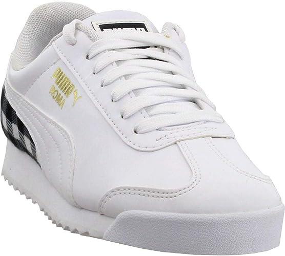 PUMA PUMA Unisex Smash V2 L JR Sneaker, Black, 6 M US Big Kid from Amazon | People