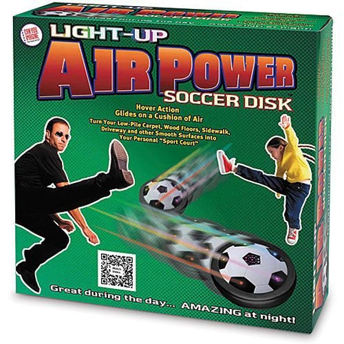 Can You Imagine Light-Up Air Power Soccer Disk (Boys Sports)