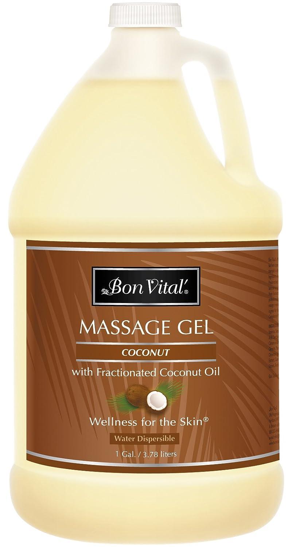 amazon com bon vital u0027 coconut massage gel made with 100 pure