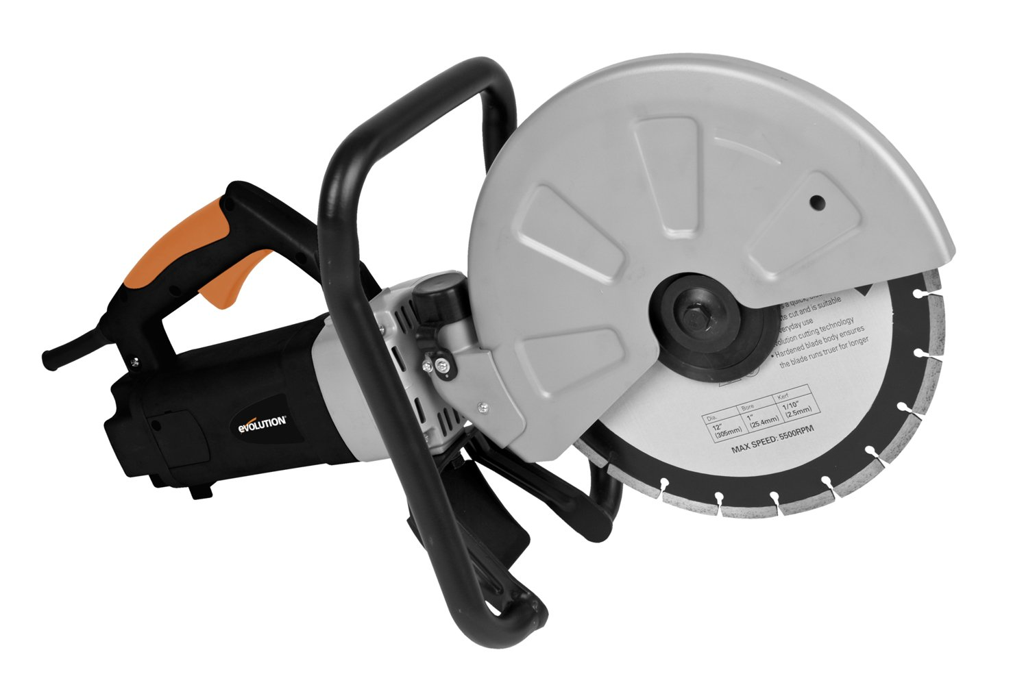 Evolution DISCCUT1 12'' Disc Cutter, Orange by Evolution Power Tools
