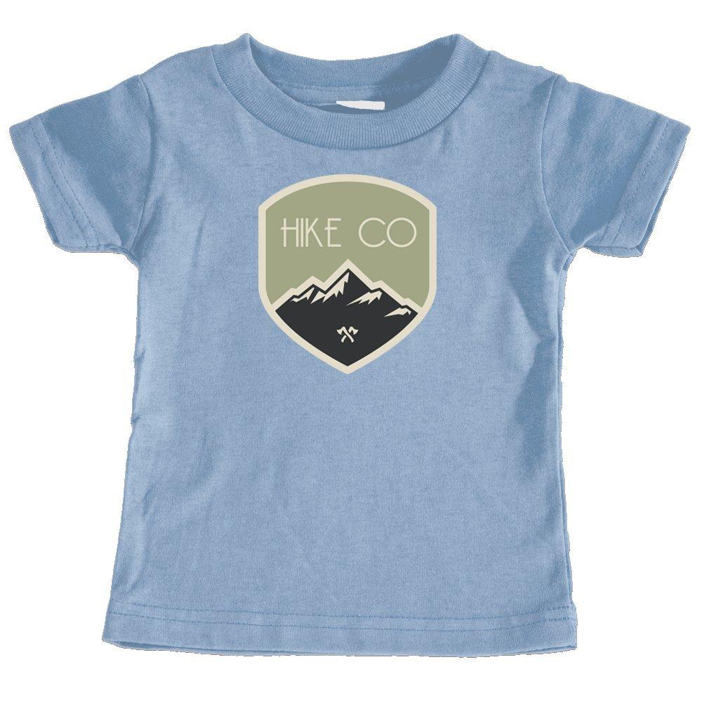Tenn Street Goods Hike Colorado Mountaineering Badge Unisex Infant T-Shirt