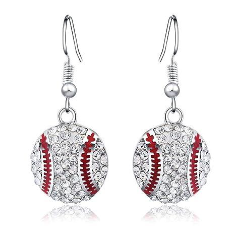 Elenxs 1 par joyería cristalina Chispeante Gancho del oído Anillos de Boda Regalo de Las Mujeres
