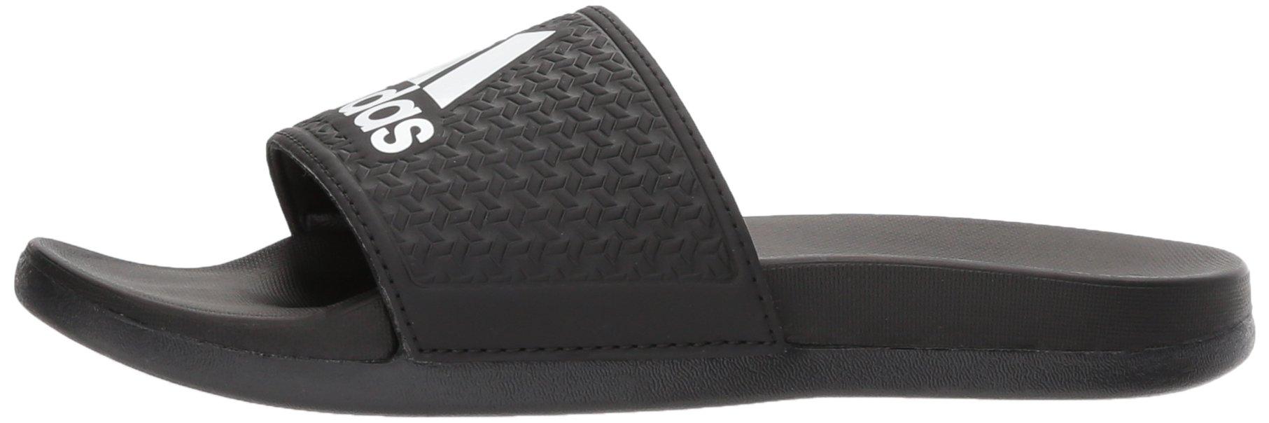 adidas Unisex-Kids Adilette Clf+ K Sandal,core black,White, core black,6 M US Big Kid by adidas (Image #5)