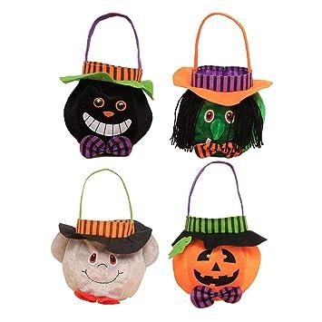 Amazon.es: Toyvian Bolsas de Dulces de Halloween - Bolsos de ...