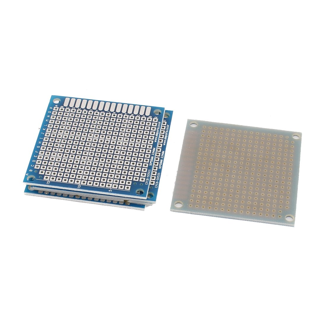amazoncom aexit 5pcs single sided prototyping boards pcb printed