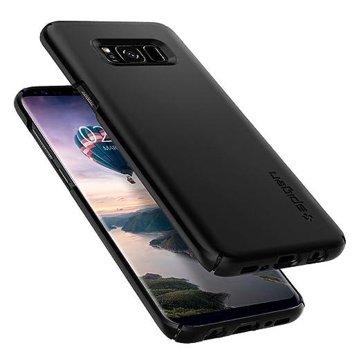 67 opinioni per Cover Galaxy S8, SPIGEN® Custodia [Thin Fit] Premium finitura opaca di